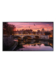 "Samsung QB49R Digital signage flat panel 123.2 cm (48.5"") LED 4K Ultra HD Black Built-in processor Tizen 4.0"