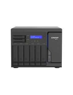 QNAP TS-h886-D1622 NAS Tower Ethernet LAN Black D-1622