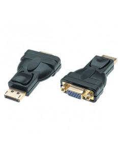 M-Cab Displayport 1.2 to VGA 15p AV Adapter, 1080p Full HD, male female, black