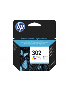 HP 302 Tri-color Original Ink Cartridge 1 pc(s) Standard Yield Cyan, Magenta, Yellow