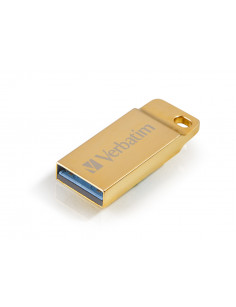 Verbatim Metal Executive - USB 3.0 Drive 64 GB - Gold