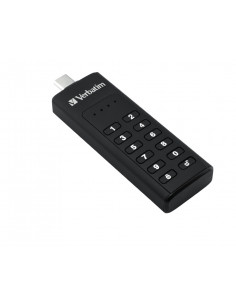 Verbatim Keypad Secure - USB 3.0 Drive with Password Protection and AES-256 HW encryption to protect your data - 32 GB - Black