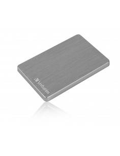 Verbatim Store 'n' Go ALU Slim Portable Hard Drive 2TB Space Grey