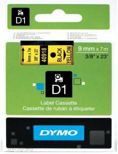 DYMO D1 Standard - Black on Yellow - 9mm