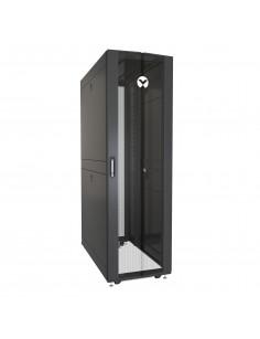 Vertiv VR3300 rack cabinet 42U Freestanding rack Black, Transparent