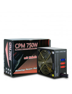 Inter-Tech CPM power supply unit 750 W 20+4 pin ATX ATX Black