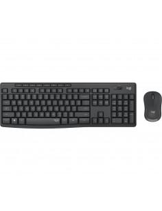 Logitech MK295 Silent Wireless Combo tastaturi RF fără fir QWERTY Spaniolă Negru