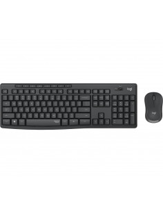 Logitech MK295 Silent Wireless Combo keyboard RF Wireless QWERTZ Swiss Black