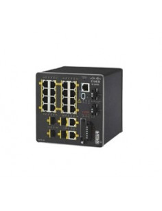 Cisco IE-2000-16TC-G-L network switch Managed Fast Ethernet (10 100) Black