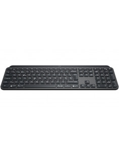 Logitech MX Keys keyboard RF Wireless + Bluetooth QWERTZ Swiss Black