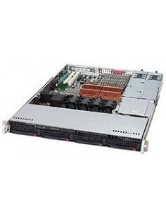Supermicro 815TQ-R500CB Rack Black 500 W