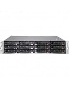 Supermicro CSE-826BE2C-R920LPB computer case Rack Black, Stainless steel 920 W
