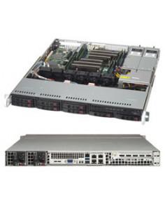 Supermicro CSE-113MFAC2-R606CB computer case Rack Black 600 W