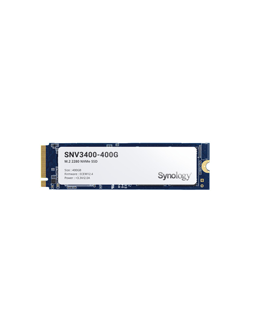 Synology SNV3400-400G internal solid state drive M.2 400 GB PCI Express 3.0 NVMe