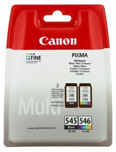 Canon PG-545 CL-546 Multipack ink cartridge 2 pc(s) Original Black, Cyan, Magenta, Yellow