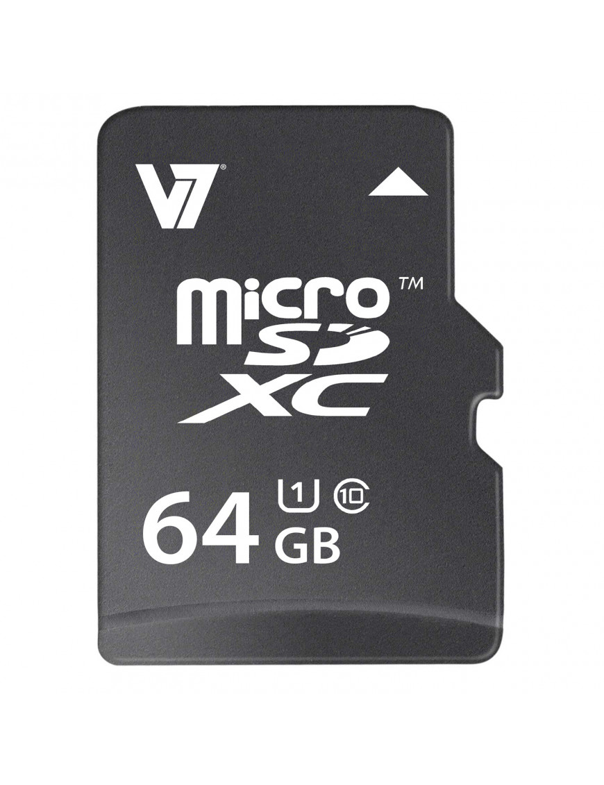 V7 64GB MicroSDXC UHS-1 Memory