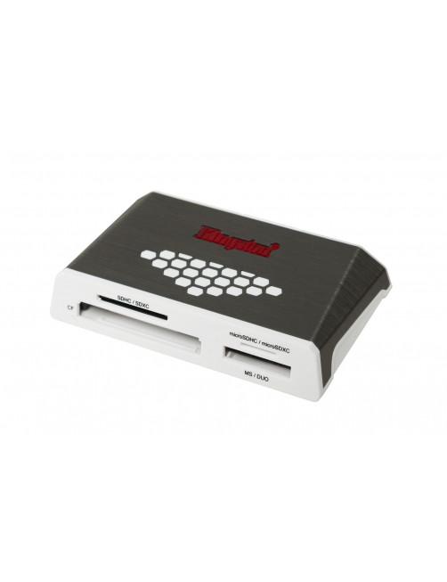 Kingston Technology USB 3.0 High-Speed Media Reader card reader USB 3.2 Gen 1 (3.1 Gen 1) Grey, White