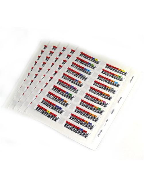 Quantum 3-06397-10 barcode label Multicolour
