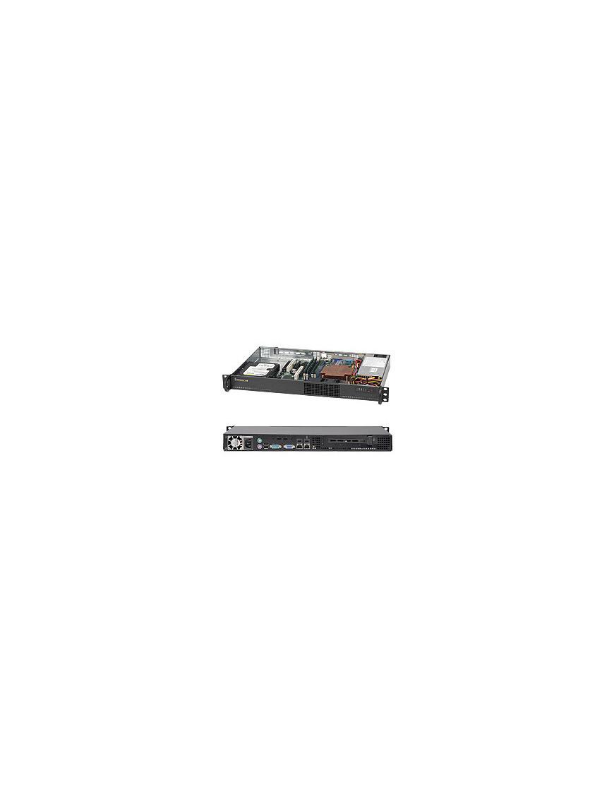 Supermicro SuperChassis 510-203B Rack Black 200 W