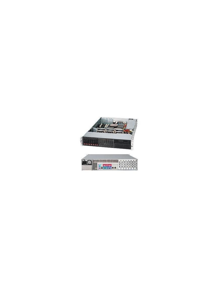 Supermicro SuperChassis 213LT-600LPB Rack Black 600 W