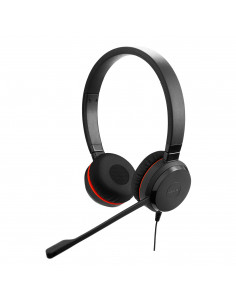 Jabra Evolve 20SE MS Stereo Headset Head-band USB Type-A Black
