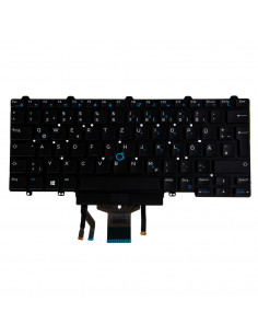 Origin Storage N B KBD Latitude 7400 German 82 Keys Backlit DP