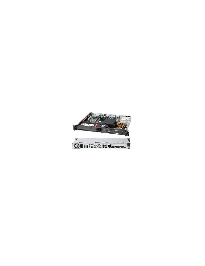 Supermicro SC512-203B Rack Black 200 W