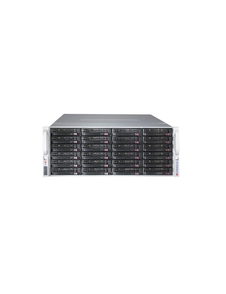 Supermicro SuperChassis 847BE1C4-R1K23LPB Rack Black 1200 W