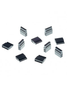 Axis 5505-271 wire connector A 6-pin 2.5 Black