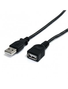StarTech.com 6 ft Black USB 2.0 Extension Cable A to A - M F
