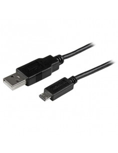 StarTech.com 2m Mobile Charge Sync USB to Slim Micro USB Cable for Smartphones and Tablets - A to Micro B