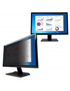 "V7 PS23.0W9A2-2E display privacy filters Frameless display privacy filter 58.4 cm (23"")"