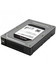 "StarTech.com Dual-Bay 2.5"" to 3.5"" SATA Hard Drive Adapter Enclosure with RAID"