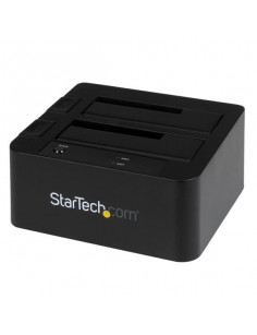 StarTech.com USB 3.0   eSATA Dual Hard Drive Docking Station with UASP for 2.5 3.5in SATA SSD   HDD – SATA 6 Gbps