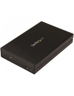 "StarTech.com Drive Enclosure for 2.5"" SATA SSDs HDDs - USB 3.1 (10Gbps) - USB-A, USB-C"