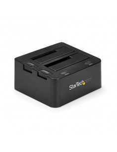 StarTech.com USB 3.0 Dual Hard Drive Docking Station with UASP for 2.5 3.5in SSD   HDD – SATA 6 Gbps