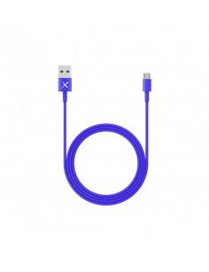 XLayer 214099 USB cable 1 m 2.0 Micro-USB A USB A Blue