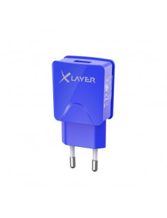 XLayer 214113 mobile device charger Indoor Blue