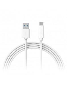 XLayer 214354 USB cable 1 m 3.2 Gen 1 (3.1 Gen 1) USB A USB C White