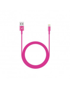 XLayer 214093 lightning cable 1 m Pink