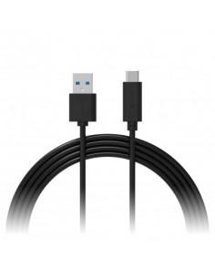 XLayer 214345 USB cable 1 m 3.2 Gen 1 (3.1 Gen 1) USB A USB C Black